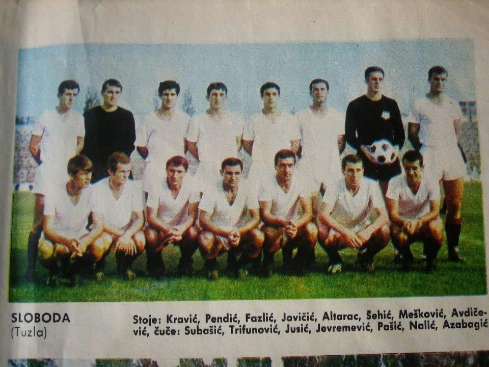 Bogata historija fudbalskog kluba Sloboda