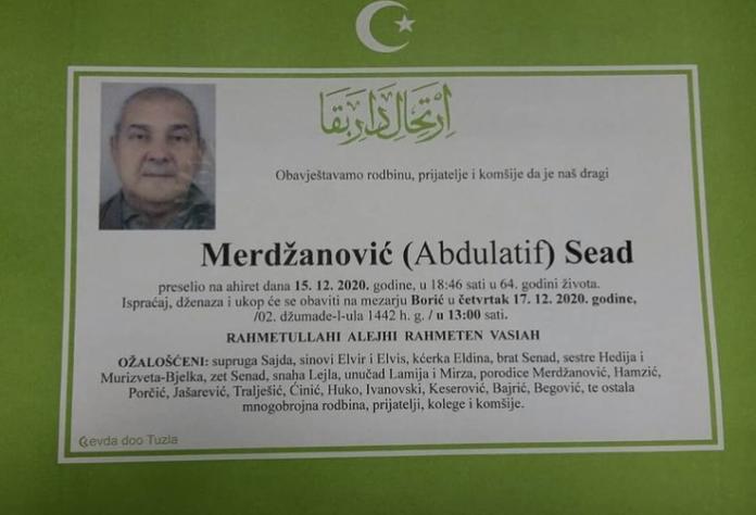Merdzanovic Sead