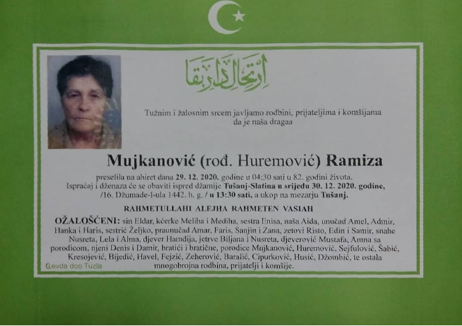 Mujkanović Ramiza