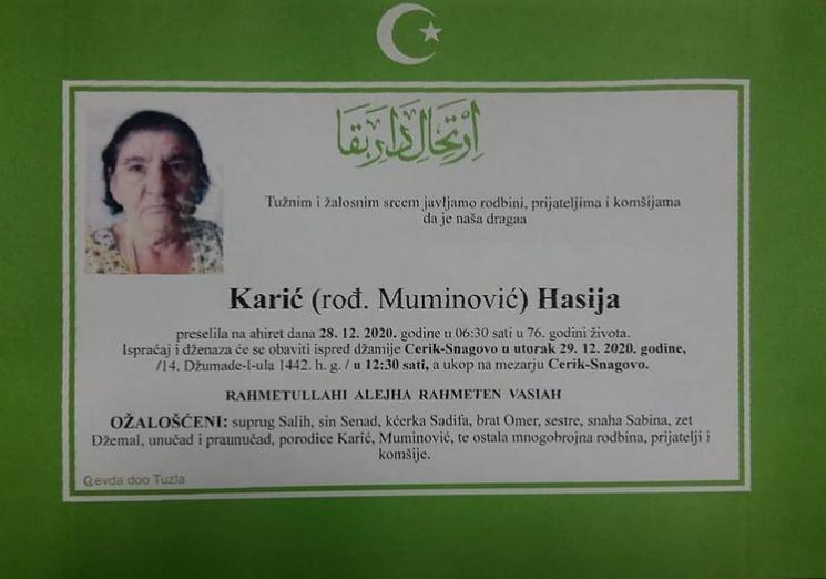 Karić Hasija