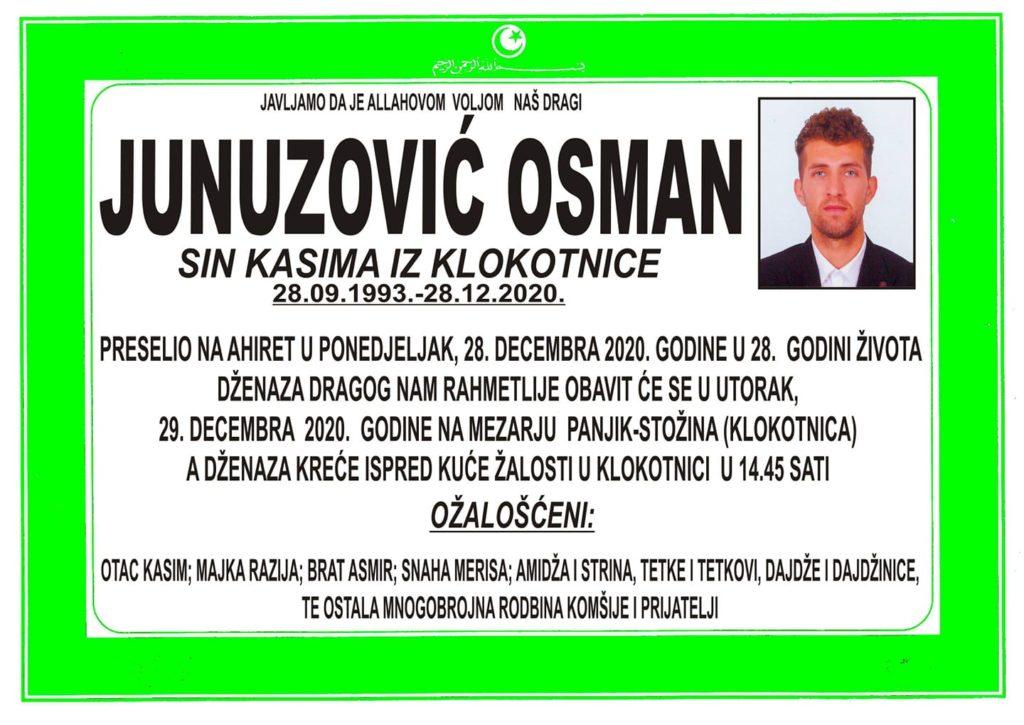 Preminuo Osman Junuzović, jedan od najboljih bh. atletičara