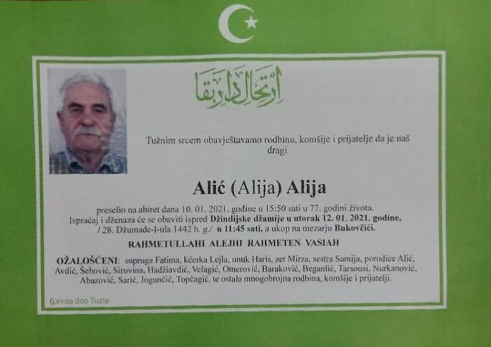 Alić Alija