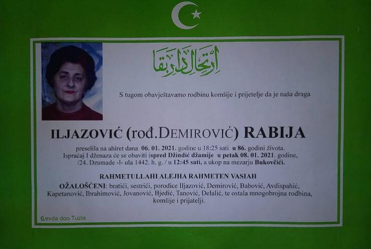 Iljazović Rabija