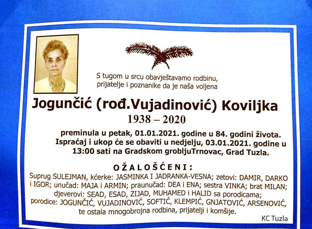 Jogunčič Koviljka