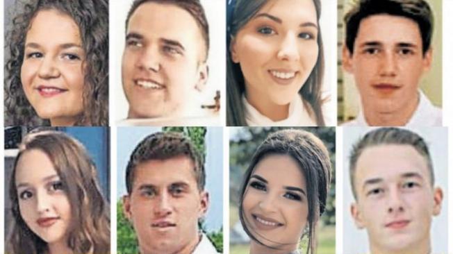 fotografije tragično nastradalih djevojaka i mladića u Posušju