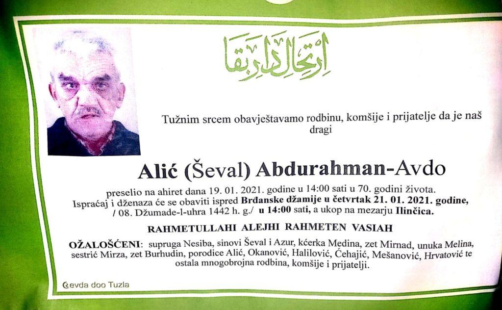 Alić Abdurahman