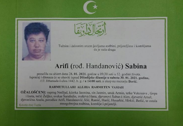 Arifi Sabina