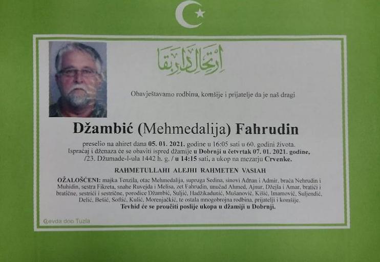 Džambić Fahrudin