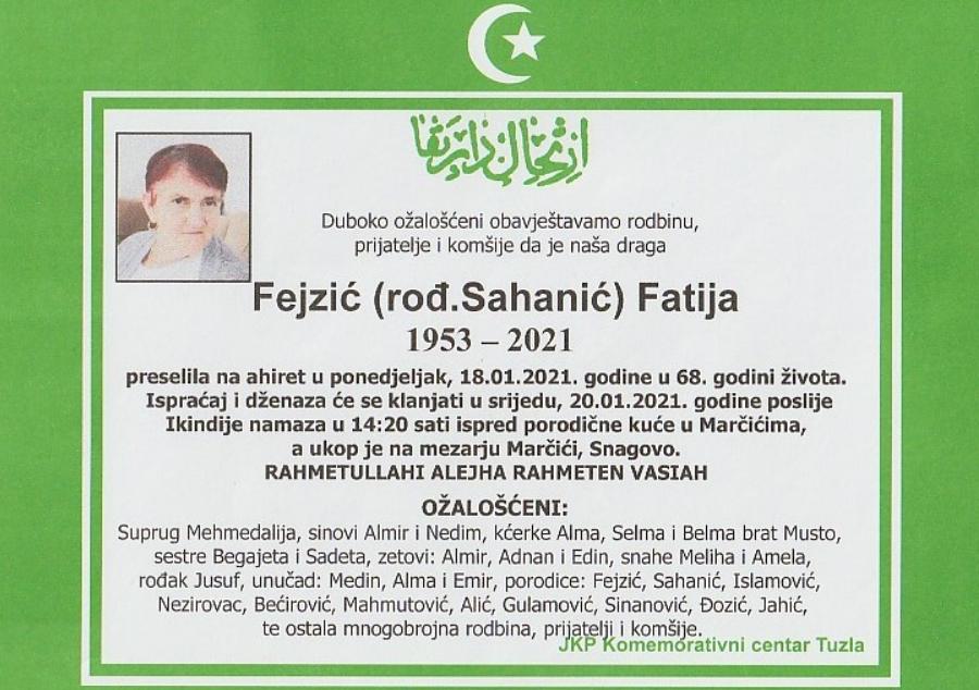 Fejzić Fatija