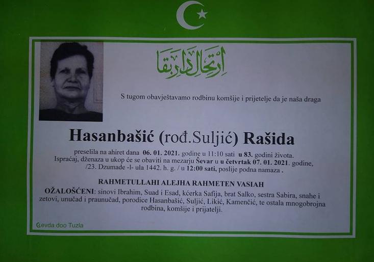 Hasanbašić Rašida