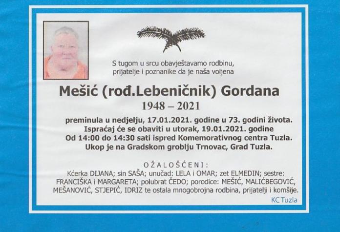 Mešić Gordana