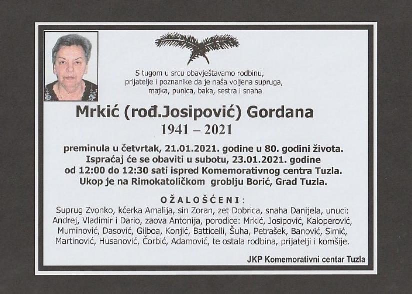 Mrkić Gordana