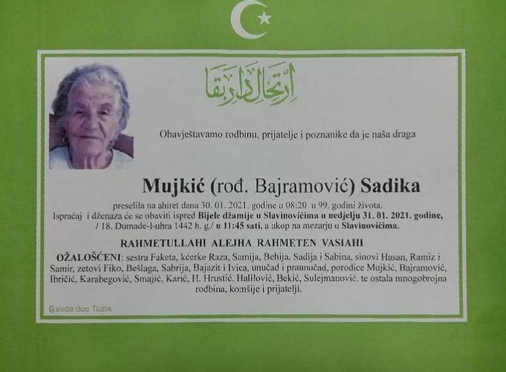 Mujkić Sadika