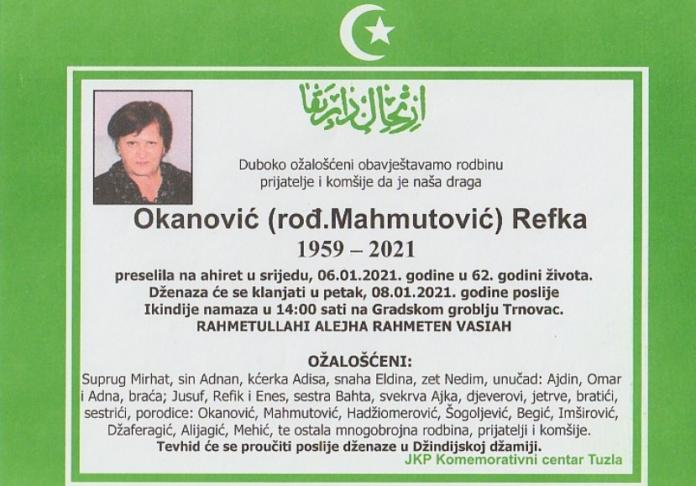 Okanović Refka
