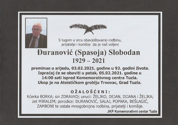Đuranović Slobodan