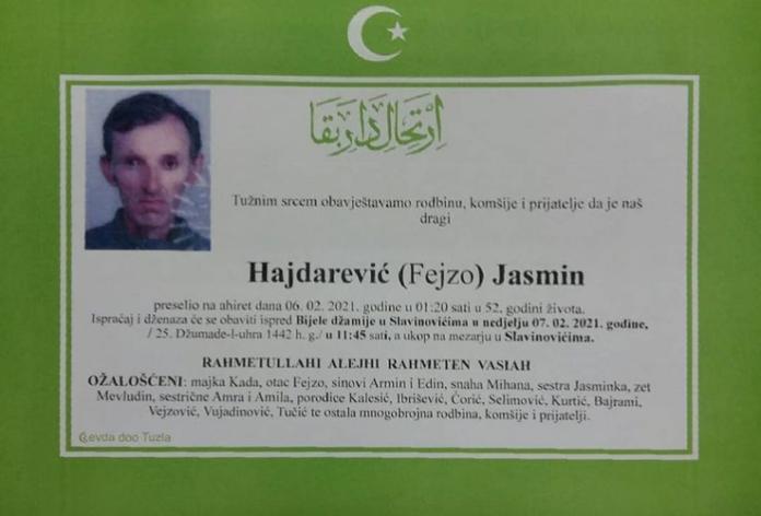 Hajdarević Jasmin