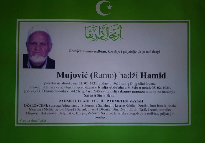 Mujović hadži Hamid