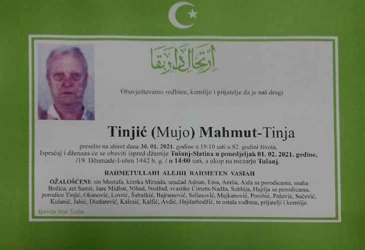 Tinjić Mahmut