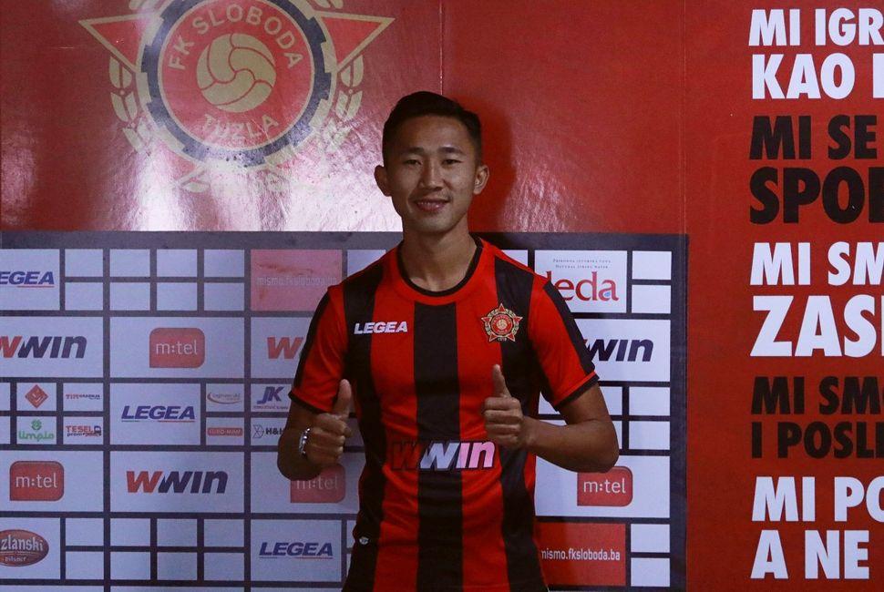 FK Sloboda potpisala igrača iz Indonezije