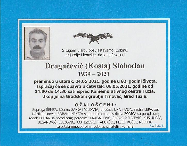 Preminuo je Slobodan Dragičević