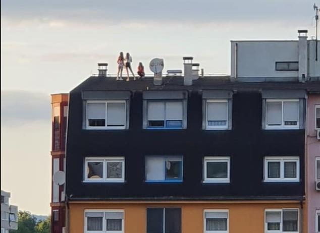 Djevojčice u Tuzli zbog par slika popele se na krov zgrade