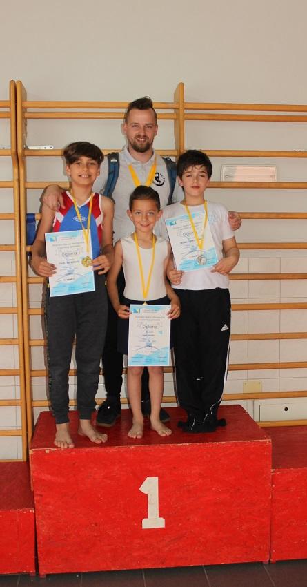 Zlatne i srebrne medalje za ''Salto'' na Državnom prvenstvu u sportskoj gimnastici