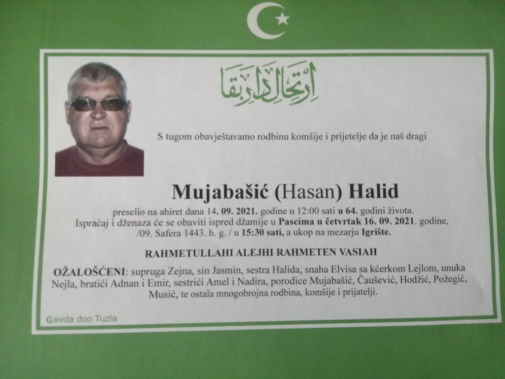 Preminuo je Halid Mujabašić