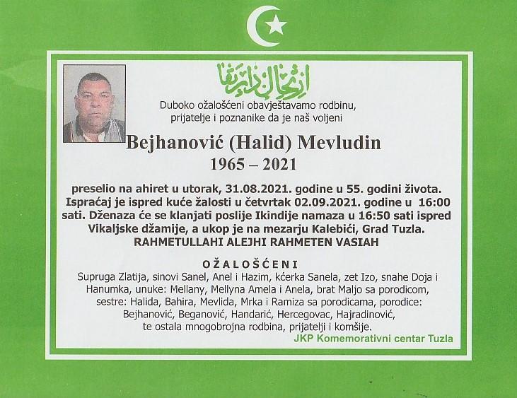 Preminuo je Mevludin Bejhanović