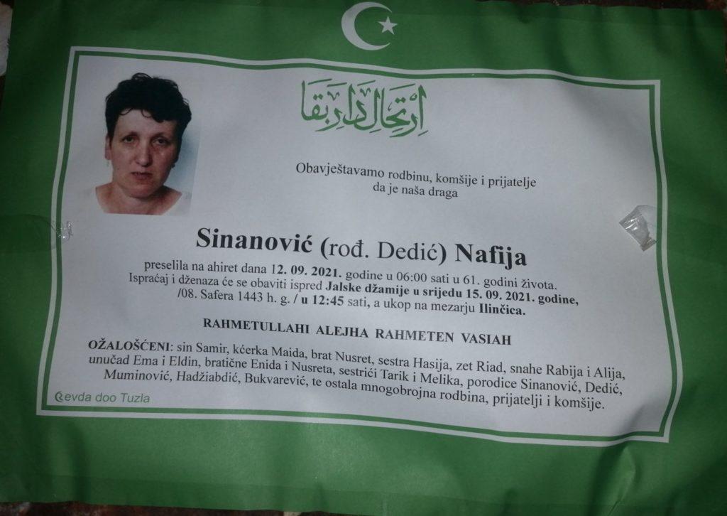 Sinanović Nafija