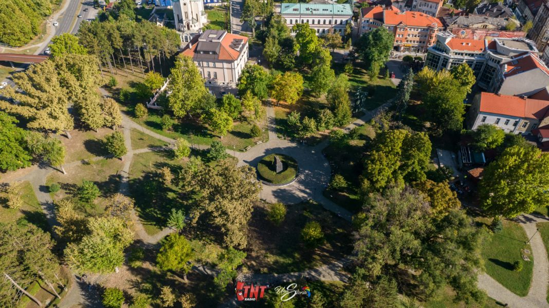Gradski park u Tuzli